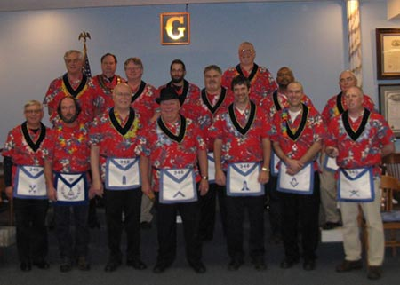 Lebanon Lodge #346 2017 Officers