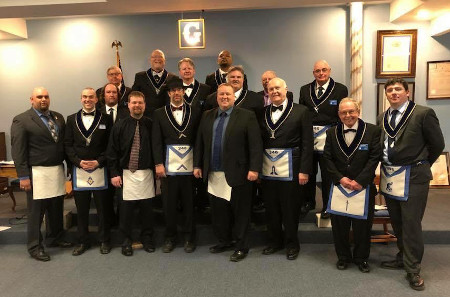 Lebanon Lodge #346 2018 Officers