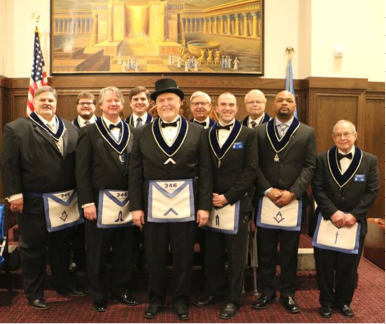 Lebanon Lodge #346 2019 Officers