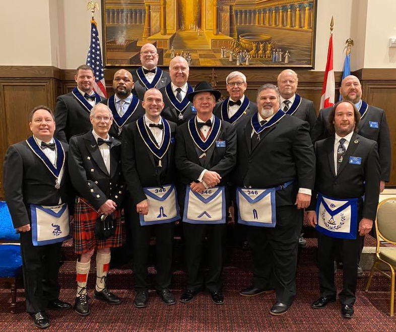 Lebanon Lodge #346 2020 Officers